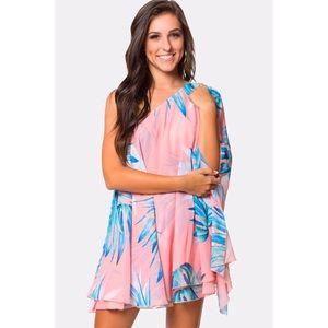 SMYM | Tropical Mini Dress.